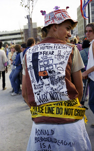 Punk at the 1984 Democratic convention protest
