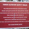 Tower elavator rules
