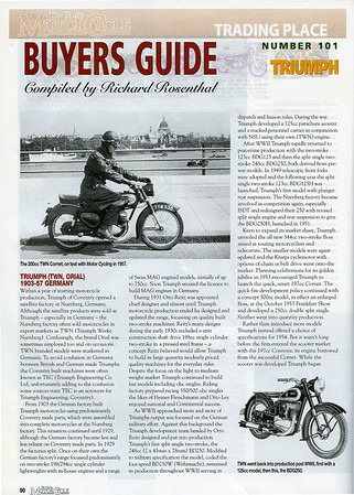 TWN Motorcycles - History Page 1 of 2
