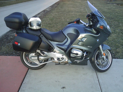 2004 BMW R1150RT at purchase