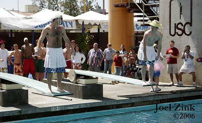 Belly Flop Contest at Swim with Mike 4.8.06