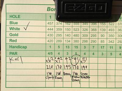 2012 Golf at Bonnie Brae