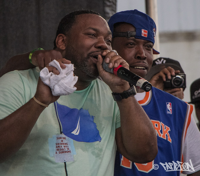 Raekwon and Lil' Fame from M.O.P.