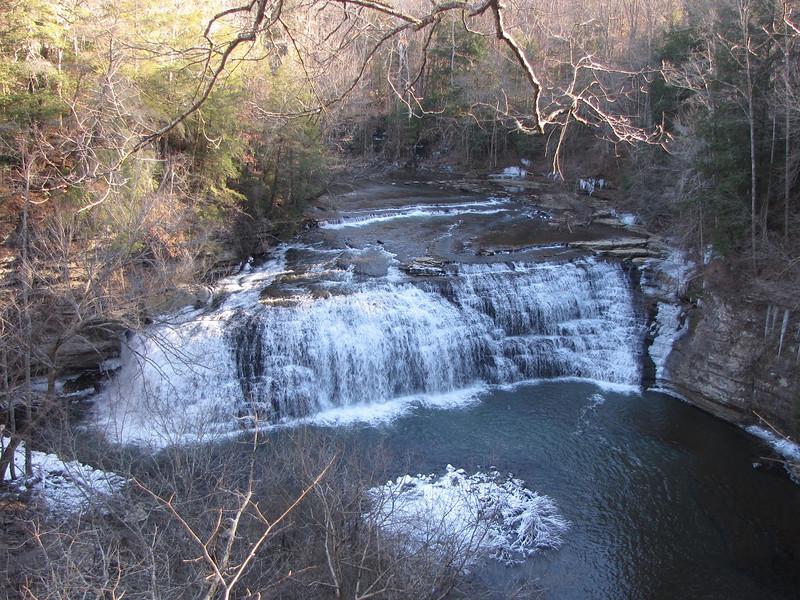 Burgess Falls SP - middle falls.