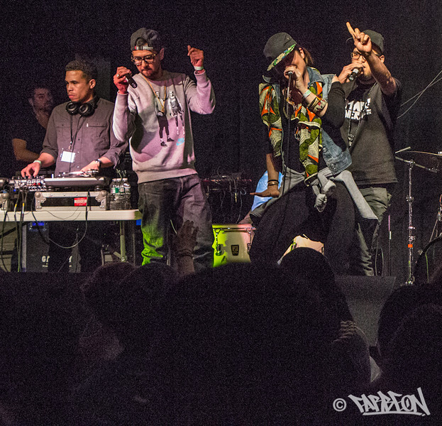 Quilombo' Arte Collective at 2014 Trinity International Hip Hop Festival.