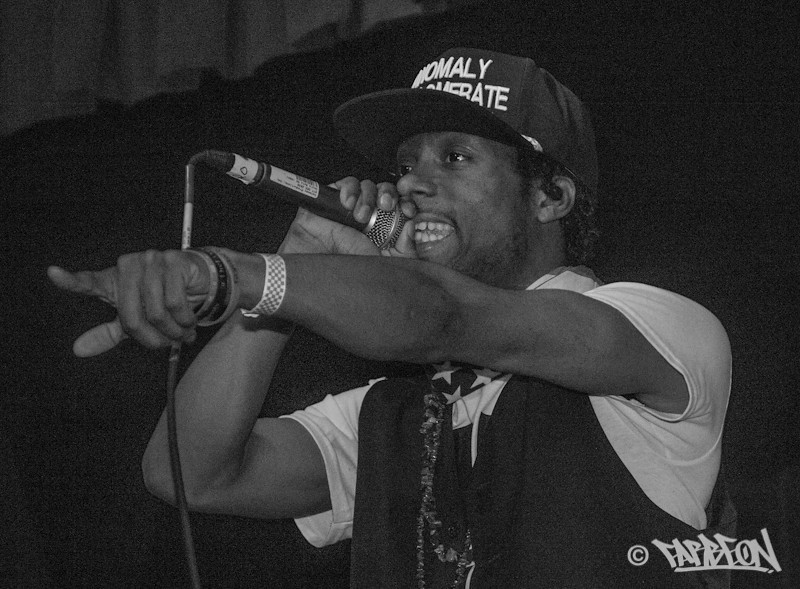Mike Larry Draw at 2014 Trinity International Hip Hop Festival.