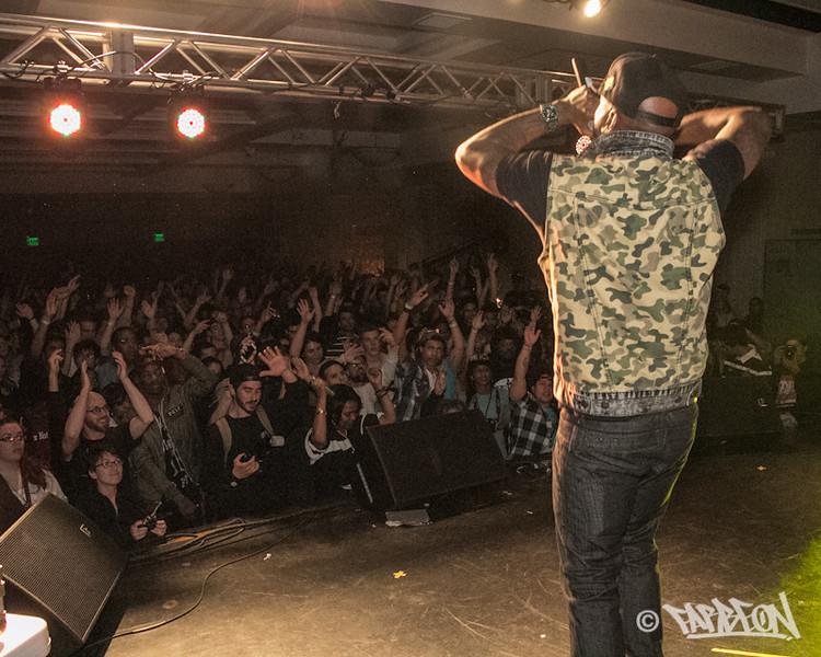 Talib Kweli at 2014 Trinity International Hip Hop Festival.