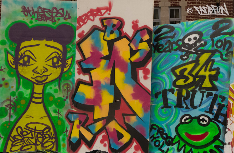 Graffiti Exhibition.