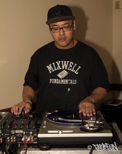 DJ Boo at Freestyle Workshop.