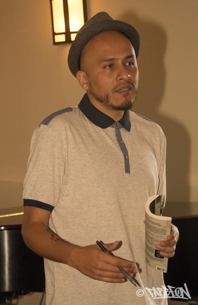 "Bocafloja (Mexico) ""Prognosis: Decolonial Poetic Exhale"" - Presentation/Performance"