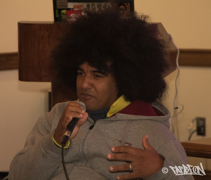 Emile YX? - Panel Discussion: Hip Hop and Youth Empowerment.