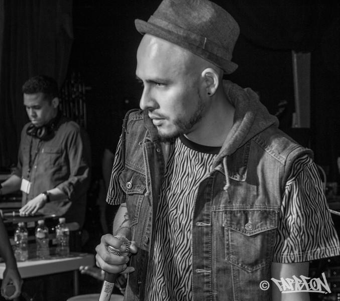 Bocafloja at 2014 Trinity International Hip Hop Festival.