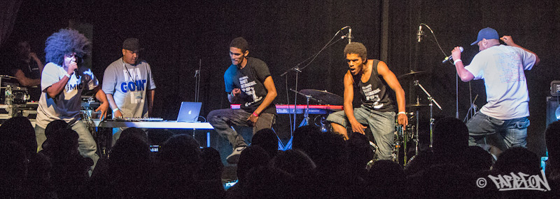 Black Noise at 2014 Trinity International Hip Hop Festival.