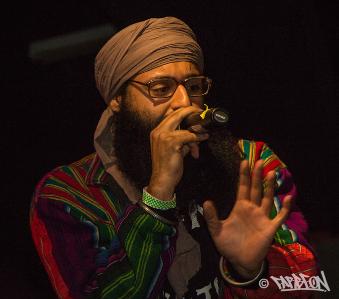 Mandeep Sethi at 2014 Trinity International Hip Hop Festival.