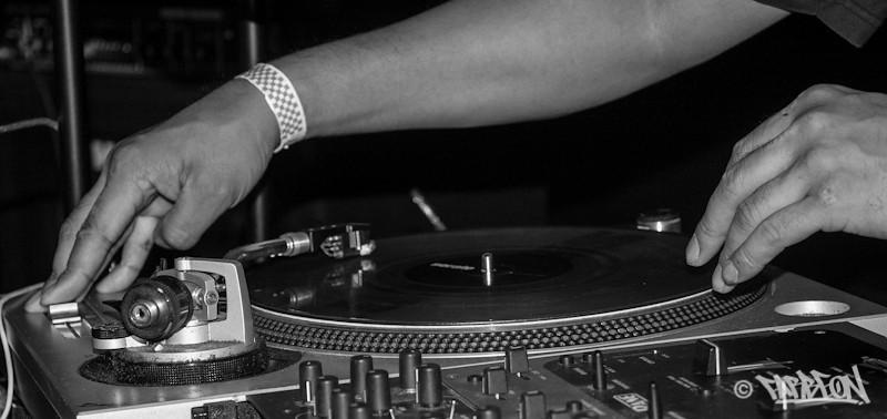 DJ Boo at 2014 Trinity International Hip Hop Festival.