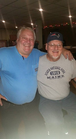 I had not seen my old buddy Joe in about 30 years.  Good time at the Beverly-Salem Elks.