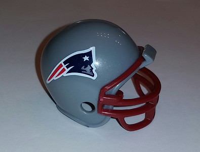 The cool mini Patriots helmet that Jerry gave me as a birthday gift.  Thanks Jerry!