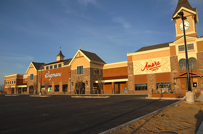 Wegmans Grocery Store before opening