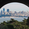 San Francisco from the tunnel