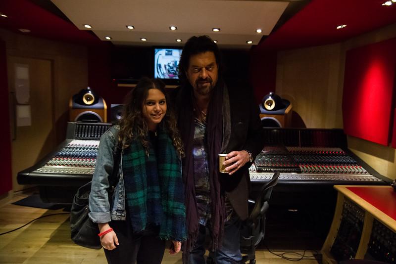 Studio 2 Control room ft. Alan & Tash