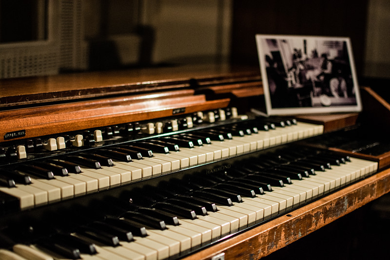 Piano used by Paul McCartney  and Pink Floyd