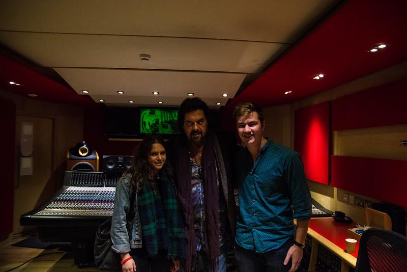 Studio 2 Control room ft. Alan, Tash & I