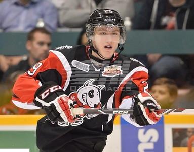Защитник канадской команды Niagara Ice Dogs Александр Микулович рассказал в интервью 74hockey.ru об игре в молодежной лиге Канады CHL