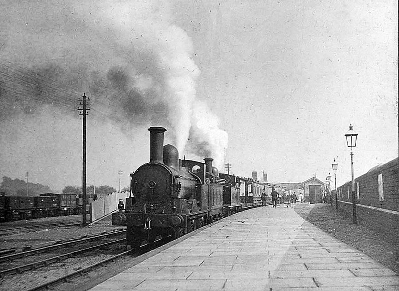 A view of Swansea Bay Station in L&NWR days. Wonderful!