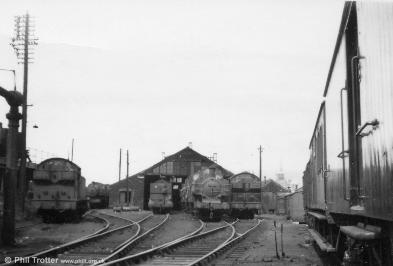 A general view of Swansea East Dock Shed. Date not recorded.