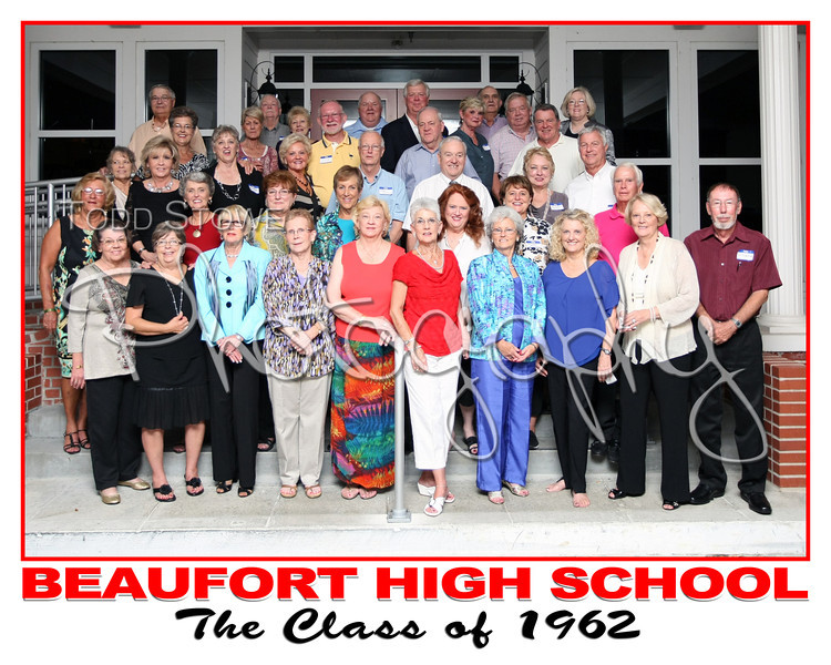 Beaufort High School's Class of 1962
