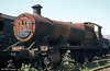 GWR 2-8-0 no. 2874, dating from 1918 and withdrawn from service in May, 1963. 2874 is one of several ex-Barry locomotives until recently stored at the Pontypool & Blaenavon Railway but it is now awaiting restoration at the West Somerset Railway.
