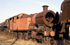 Former GWR 2-8-0T no. 4277 waits hopefully in the sunshine. Eight of the 42XX/52XX class survive.