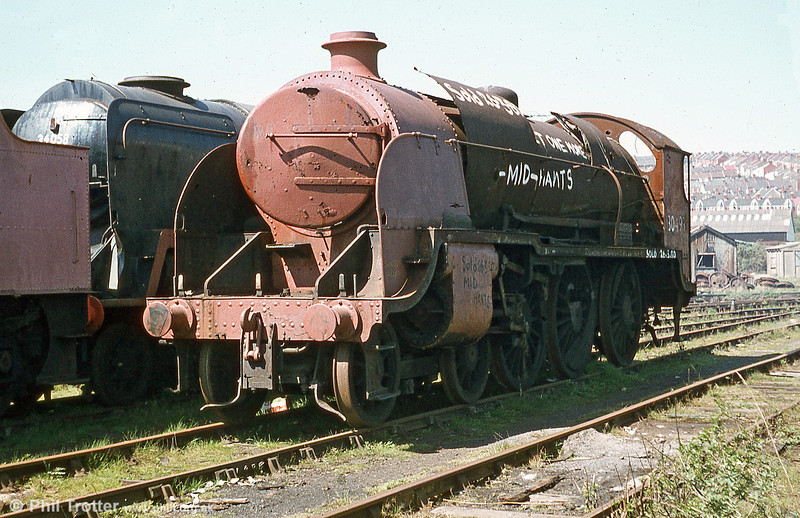 Urie 'S15' 4-6-0 no. 30499 was built in 1920, withdrawn in 1964 and spent an incredible 19 years at Barry.