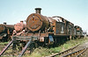 GWR 2-8-0T no. 4253 left Barry in August 1987 for storage at the Pontypool and Blaenavon Railway.