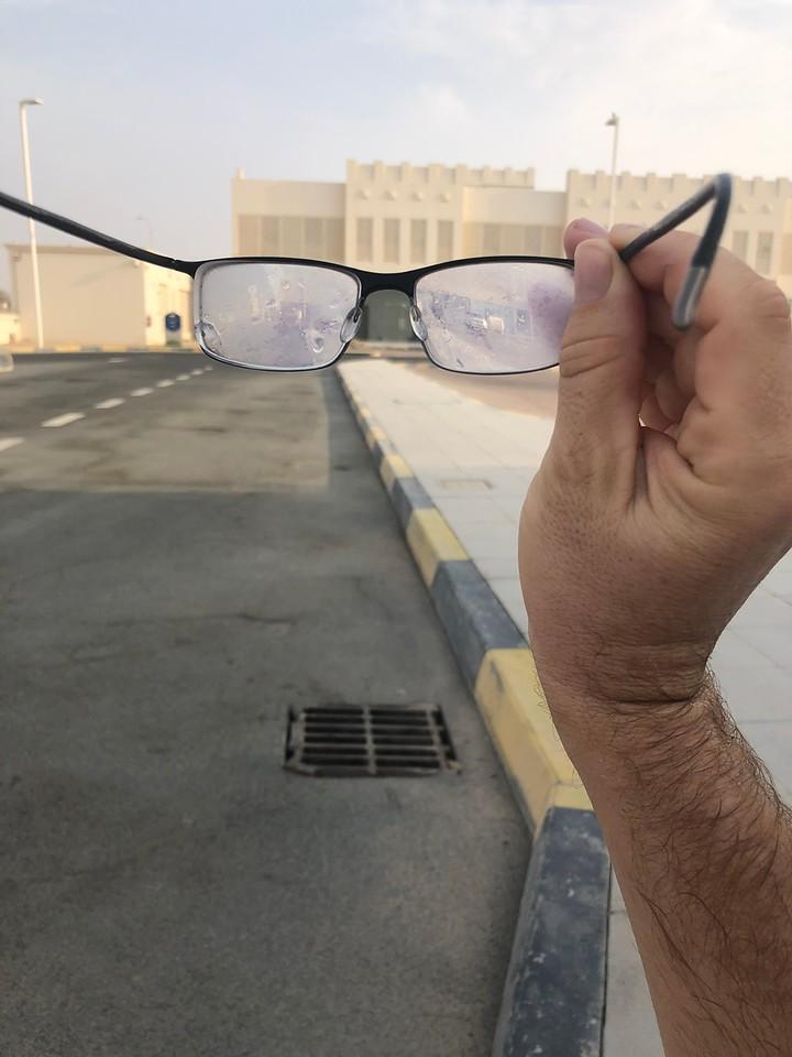 Zamlžené brýle Katar