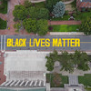 Black Lives Matter Mural on Court Street in front of Springfield City Hall.
