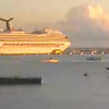 Conquest heading out of St Maarten - from video