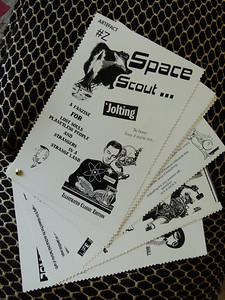 Space Scout zine.