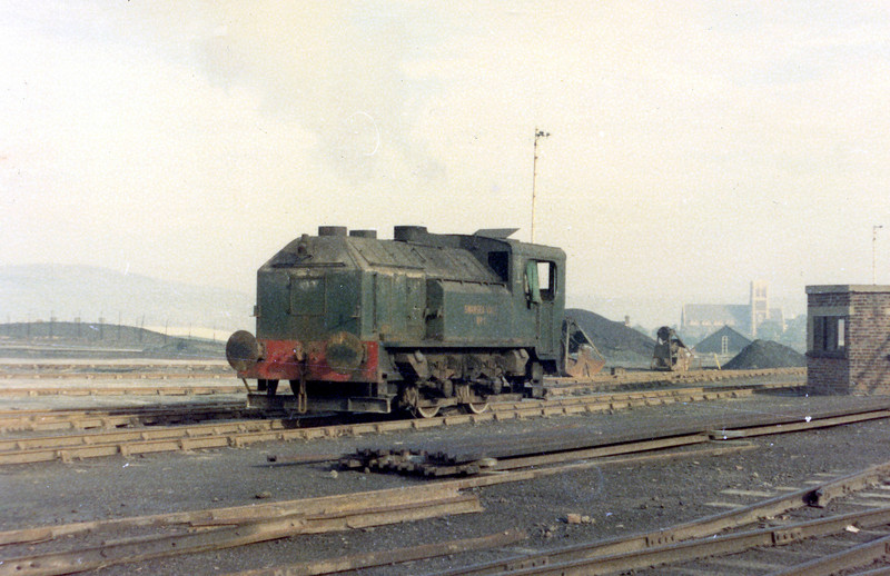 Another view of Sentinel 4wVBT (9622/1958) 'Swansea Vale No. 1' at the Imperial Smelting Corporation, Swansea Vale works, Llansamlet.<br /> Photo: Brian Owen