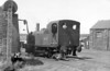 Midland Railway 0-4-0T no.41535 takes water at Burrows Lodge Yard in June 1964. The Midland Railway 1528 Class was a class of small 0-4-0Ts designed for shunting. Ten were built in two batches - the first five (Nos 1528-33 in 1907) and the second five, 1534-7 in 1921-1922, with detail differences between the batches. <br /> After nationalisation in 1948, British Railways added 40000 to their numbers to become 41528-37.<br /> Photo: Brian Owen