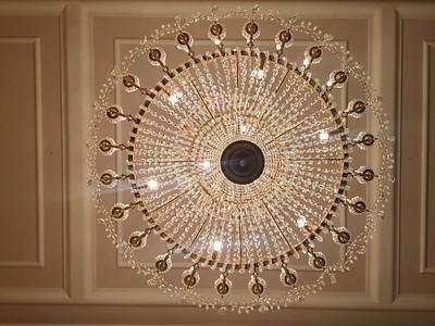 Ballroom in Teatro La Fenice opera house. Venice, Italy