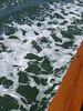 Foam on the water