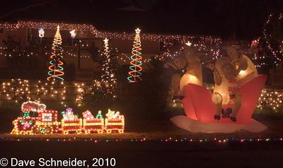 Christmas Decorations - LA - CA, Dec 2004