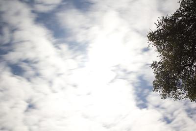 cloudy night test