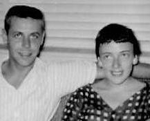 """Vicki Skinner's Daddy - """"Bill"""" Wilbur Eugene Skinner Nov. 5, 1931 - Aug. 18, 1963 (32)  Vicki's Mom - Joan Schwartz-Skinner   July 18, 1932 - March 26, 2004 (72) ."""