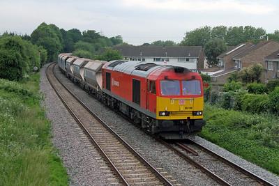 60100 Eastleigh 10/06/16 7O44 Merehead to Eastleigh