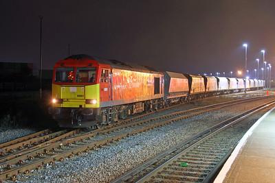 60091 Eastleigh 14/10/16 7V33 Eastleigh to Merehead