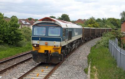 59103 Eastleigh 09/06/15 7V16 Fareham to Eastleigh