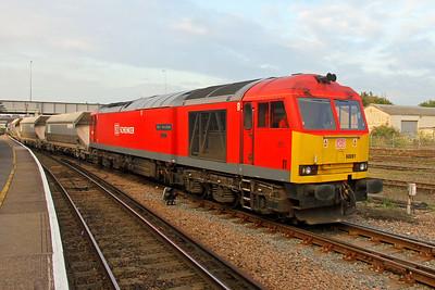 60091 Eastleigh 14/10/16 7O40 Merehead to Eastleigh