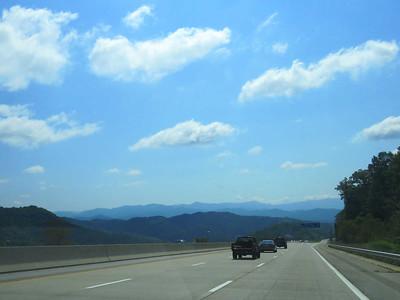 entering North Carolina on I-26